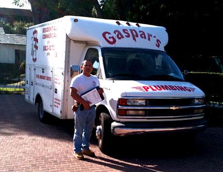 Gaspar Plumbing Truck